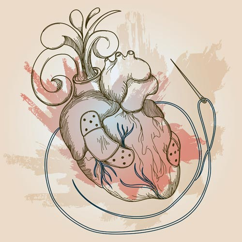 Even hearts can be mended