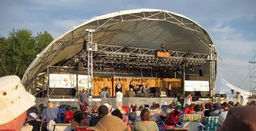 Winnipeg Folk Festival Main Stage - Bigger and further away than it looks